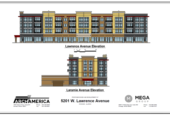 :: PUBLIC MEETING RE-SCHEDULED FOR NEXT WEEK (09/02) ON 5201 W. LAWRENCE AVE. ::