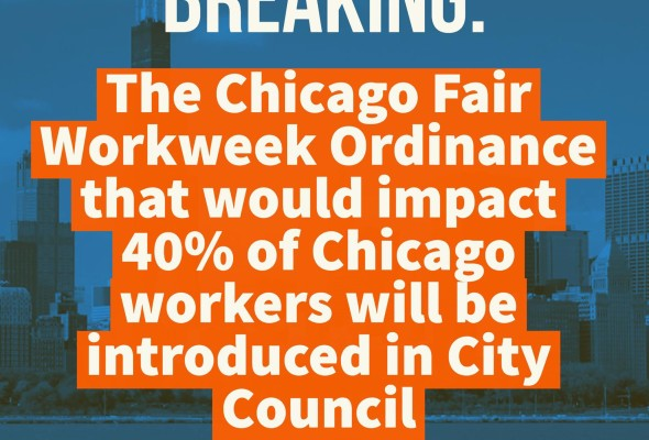 Chicago Progressive Caucus announces Fair Work Week Ordinance