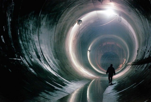 Deep Tunnel Storm Water Project Underway, Eastbound Lawrence Closed