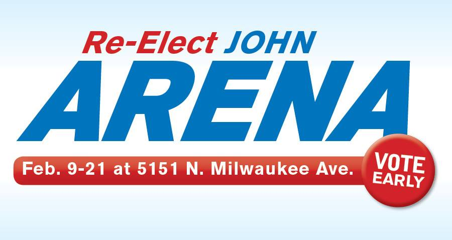 Re-Elect-Alderman-Arena-Early-Voting