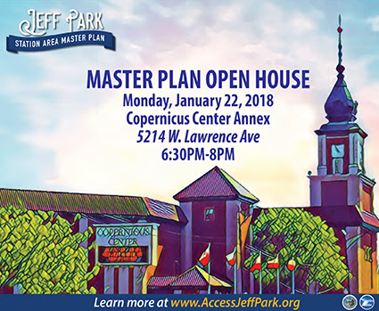 Jefferson Park Master Plan Open House Jan. 22