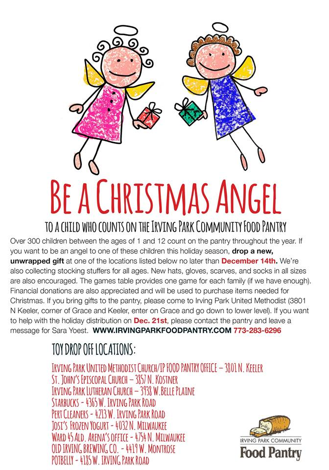 be a christmas angel 45th ward independent democrats john arena 45th ward committeeman - A Christmas Angel